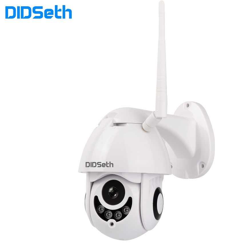 Didseth Camera Wifi Ngoài Trời PTZ Camera Ip H.264 1080 P Tốc Độ Dome Camera Quan Sát Camera An Ninh IP WIFI Bên Ngoài 2MP hồng Ngoại Nhà Cam