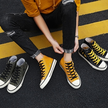 High top Sneakers Men Vulcanize Shoes Cool Young Man Canvas Shoes Breathable Cloth Male Casual Shoes Men Brand Footwear KA1618 цена 2017