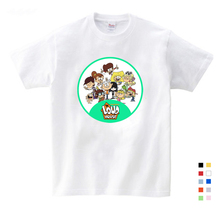 White T-shirt 2019 New Cartoon pattern Print Girls T shirt Short Sleeve O-neck Summer Tops Kid Casual Children T shirt Fashion sexy hollow high neck stripe pattern t shirt