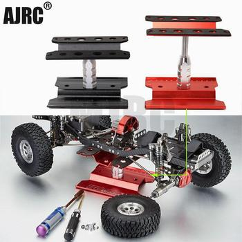 Metal Repair Station Work Stand Assembly Platform for 1/10 1/8 RC Car Traxxas TRX-4 Axial SCX10 90046 D90 RC Crawler TRX-6 HSP