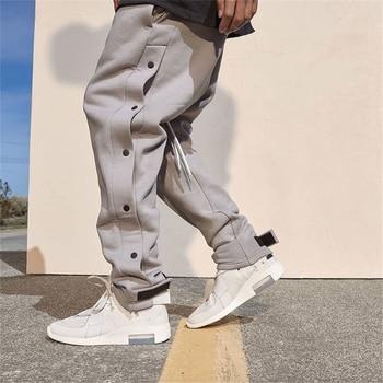 Грузовой Штаны Для мужчин 2021 в стиле хип хоп Уличная Jogger штаны липучка брюки тренажерные залы Фитнес Повседневное и детей постарше мягкие тренировочные Штаны Для мужчин на пуговицах брюки|Повседневные брюки|   | АлиЭкспресс