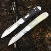 [Brother 1503] 60HRC Pocket knife modern tradtional folding knives VG10 steel Carbon fiber folder Tactical EDC tool collection