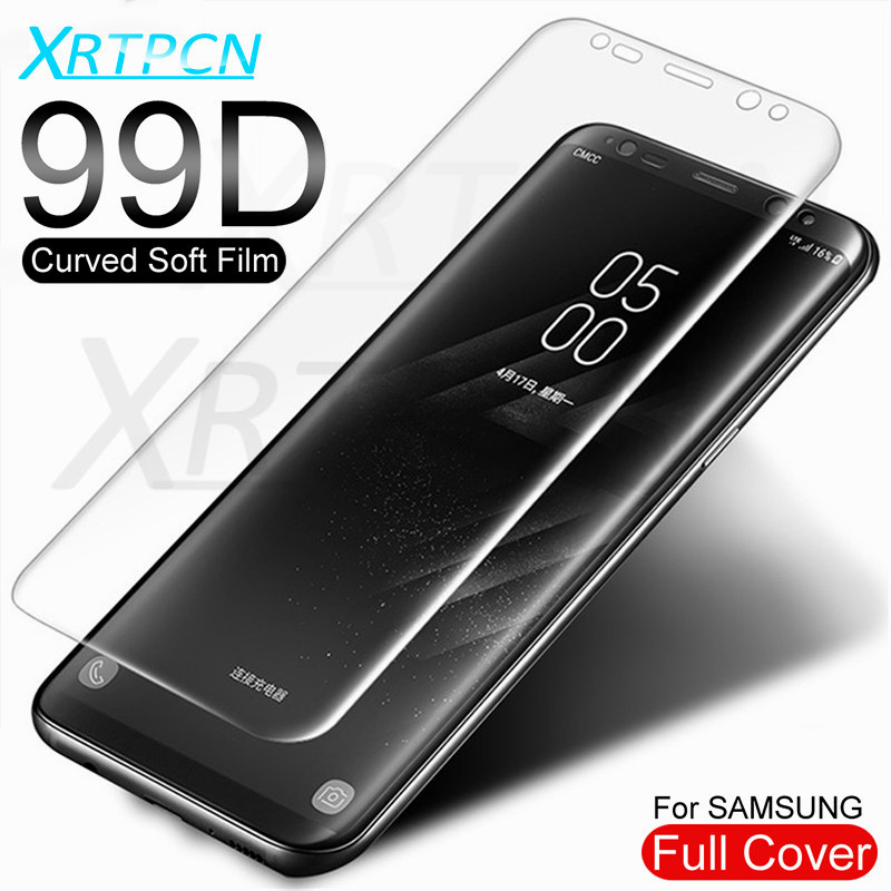 99D Curved Soft Hydrogel Film On The For Samsung Galaxy S8 S9 Note 8 9 S7 S6 Edge S8 S9 Plus Screen Protective Film Not Glass