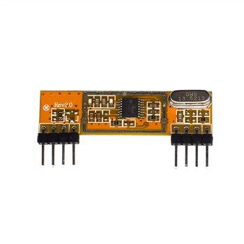 цена на NEW RXB6 433Mhz superheterodyne wireless receiver module for Arduino / ARM / AVR