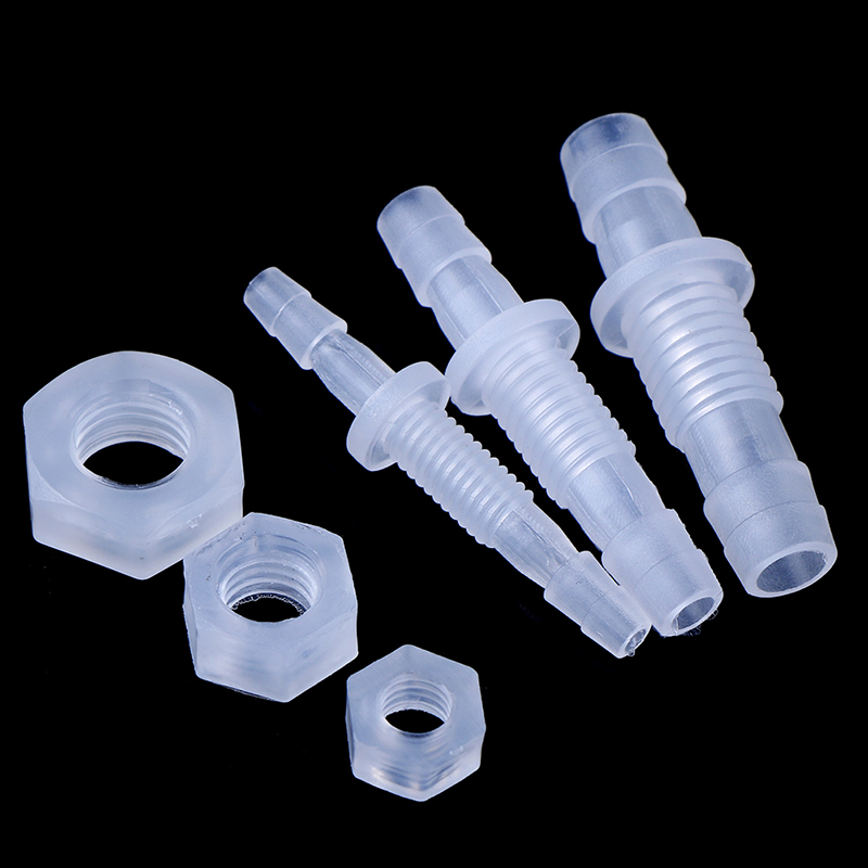 Air Pump Fish Tank Adapter Thread Hex Nut Straight Connectors Hose Fittings