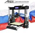2020 Originale Anet 3D Kit stampante Prusa i3 reprap A8/SD card PLA PLASTICA come regali/acquistare 3D penna/trasporto espresso da Mosca