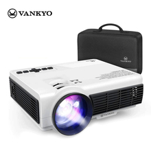 VANKYO mini Projector Support 1920*1080P 170'' Wifi Sync Display Portable Projector Support