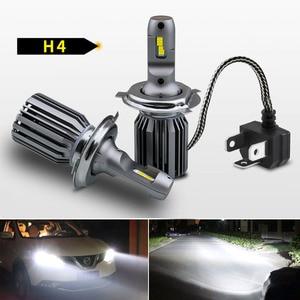 2Pcs Car LED Headlight H4 H1 H