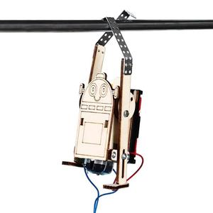 Robot Rope Climbing Model Expe