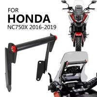 Motocicleta soporte del teléfono móvil del teléfono de navegación GPS de soporte de la placa para Honda NC750X NC 750X2016-2019, 2017, 2018, 2019