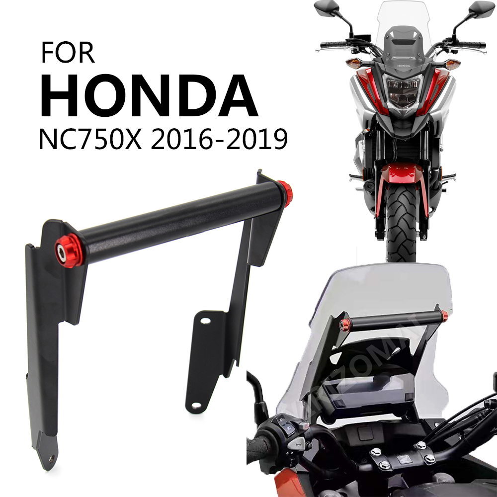 Motorcycle Stand Holder Phone Mobile Phone GPS Navigation Plate Bracket for Honda NC750X NC 750X 2016 - 2019 2017 2018 2019 image