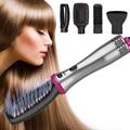 Многофункциональный Выпрямитель волос расчески завивка гребень туйер диффузор 5 в 1 отрицательные ионные Горячие распылители