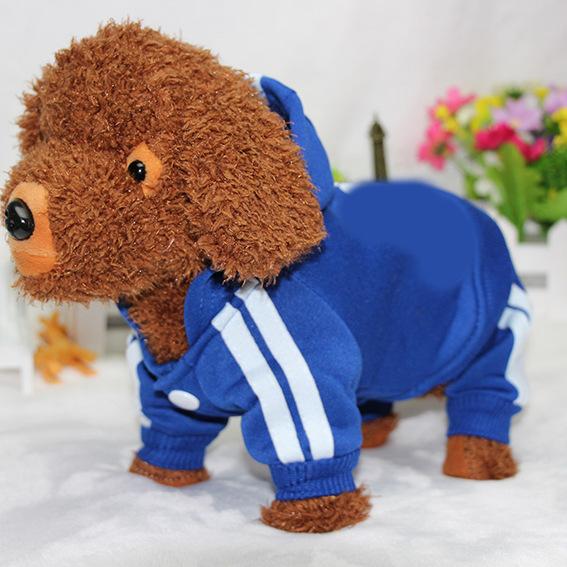 PUOUPUOU Winter Warm Pet Dog Clothes Hoodies Sweatshirt for Small Medium Dogs French Bulldog Sweet Puppy Dog Clothing XS-XXL 21