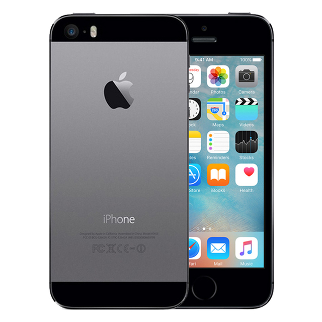 """Original iPhone 5S Used 99% New Mobile Phone 3G 4G Dual Core 4"""" 8MP WIFI 3G iPhone5s Unlocked A1457 Cellphones Used 4"""