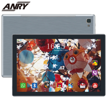 ANRY 4G Phone Tablet Android 8.0 2hrs Full Charged 3GB+32GB Phablet Octa Core 10 Inch 4g Tablet Pc Type-C Game Phablet