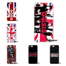 Oasis Band UK Flag Poster untuk Xiaomi Mi3 Samsung A10 A30 A40 A50 A60 A70 Galaxy S2 Note 2 Grand core Prime Silikon Handphone(China)