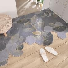 Household Silk Loop Door Mat Carpet Living Room Hallway Bedroom Entrance Mats Carpet Simple Pattern Non-Slip Cuttable Door Mats