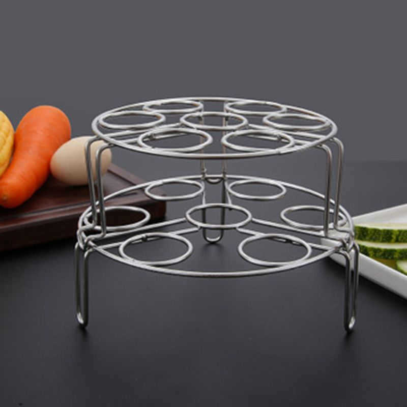 Multi-purpose Stackable Eggs Steamer Rack Tripod Anti-scalding Transfer Clip For Instant Pot Accessories