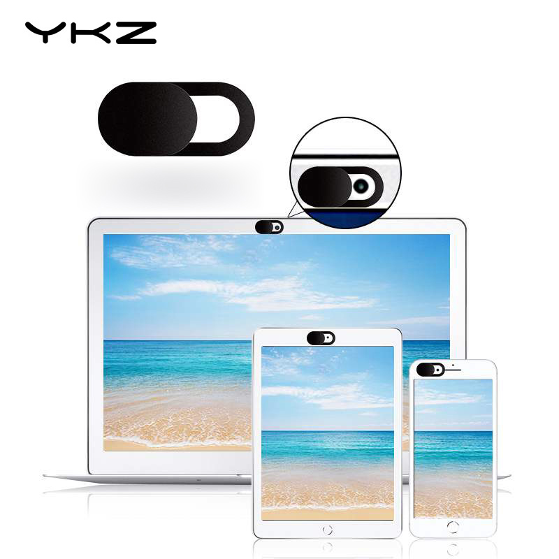 YKZ Lens Cap Webcam Cover Universal Phone Laptop Camera Cover Cache Slider Web Cam Cover For IPhone IPad Huawei Len Sticker