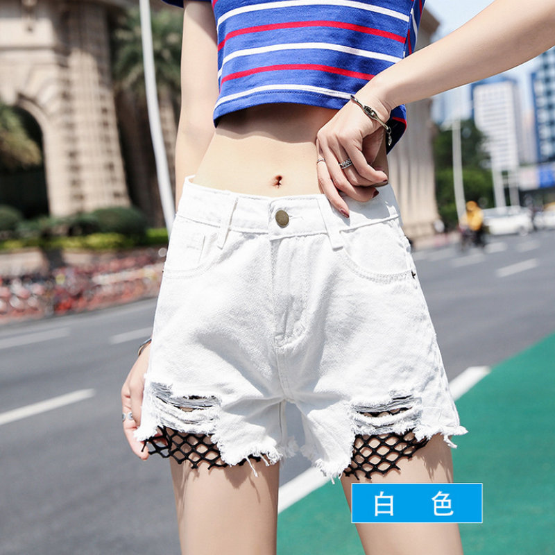 Summer 2020 Popular Black Hole Style Solid Casual Woman Shorts 919