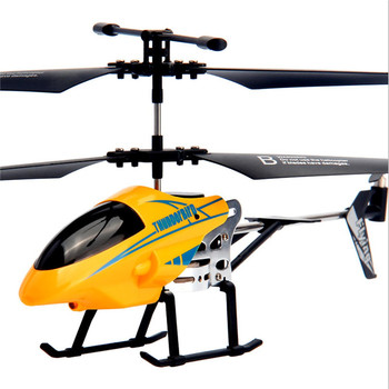 RC Helicopter 3.5 CH Radio Control Helicopter with LED Light Quadcopter Children Christmas Gift Shatterproof Flying Toys 4