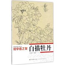 Peony Line Drawing  Chinese Painting Sumi-e Beginner Outline Sketch Tattoo Reference Book