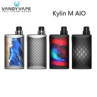 Original Vandy Vape Kylin M AIO Kit Rebuildable AIO Pod Cartridge 5ML Vaporizer E cig Vape Box Kit Electronic Cigarette Kit