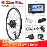 """MXUS Elektrische Bike Conversion Kit Vorne Rad Motor 350W E Bike Kit 48V 36V Hinten Hub Motor 26 """"fahrrad BLDC Controller mit LCD-in E-Bike Motor aus Sport und Unterhaltung bei"""