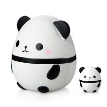 Kawaii Large Panda Egg Slow Rising Simulation Animal Squishy Toy Anti Stress Reliever Soft Squeeze Xmas Gift Toys