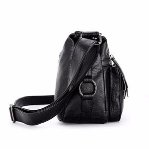 Image 3 - Luxury กระเป๋าถือผู้หญิงกระเป๋าออกแบบ 2019 หญิงหนังนุ่มกระเป๋าสะพาย Sac A หลัก Crossbody กระเป๋าผู้หญิงกระเป๋า Flap vintage