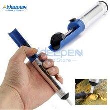 Алюминиевый паяльный отсос всасывающий оловянный пистолет устройство для отсасывания припоя ручка удаление Вакуумный паяльник осушитель ручные сварочные инструменты