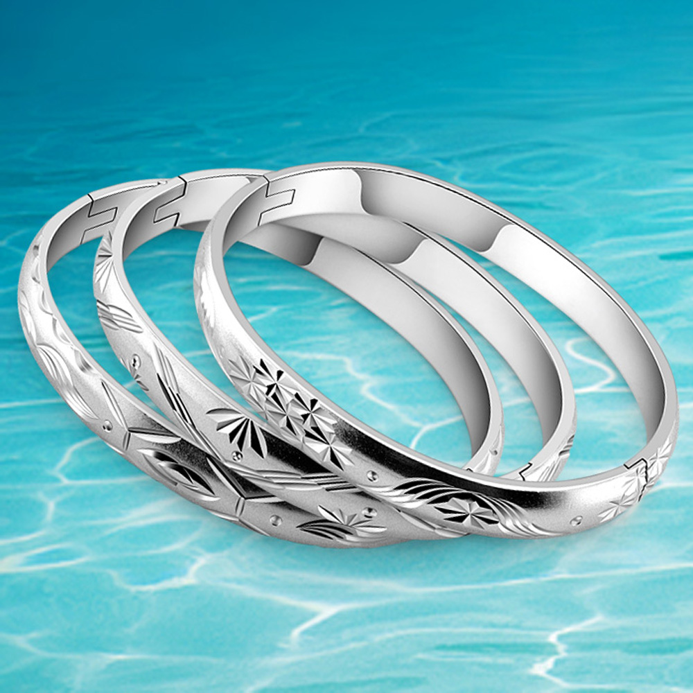 Hot sale fashion bangles jewelry for women,925 sterling silver - Fine Jewelry