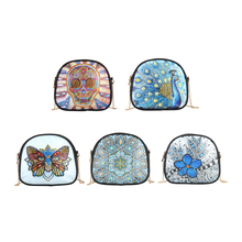 DIY цветок особой формы алмазной живописи кожа цепи сумки через плечо