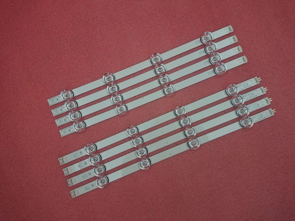 NEW!10set=80 PCS LED Backlight Strip For LG 42LB5610 42LB5800 42LB585V 42LB DRT 3.0 42 A/B 6916L-1709A 1710A 6916L-1957A 1956A