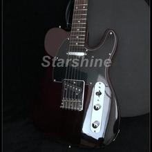 2019 Hot Sell Good Quality Electric Guitar Y-ZX7 Ash Body Mahogany Neck Vintage Tuner Brown Color Strings Thru