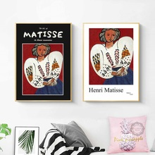 Henri Matisse Volkmar Essers Vogue Posters And Prints Girl Portrait Wall Art Canvas Painting Pictures Home Decor bilder cuadros