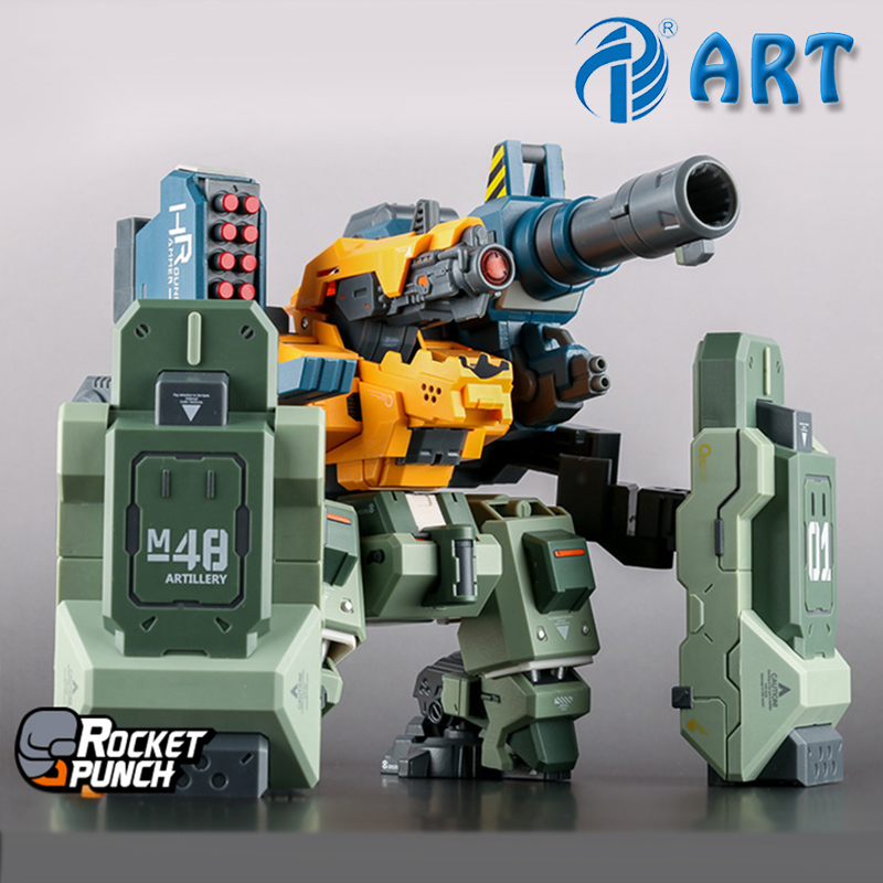 HARDCORE MECHA RoundHammer Siege Cannon Particle Type Gift Assembly Model Heavy Finished Product Free Shipping