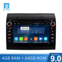 Besina Android 9.0 Car DVD Player For Fiat Ducato 2009 2010 2011 2012 2013 2014 2015 Citroen Jumper Peugeot Boxer Multimedia GPS
