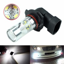 цена на 9006-2323-12SMD HB4 Samsung 2323 LED Fog Light Driving Bulb 60W 6000K White LED Lights