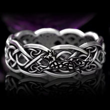 Винтажное Открытое кольцо унисекс с лисой готическое панк вырезами