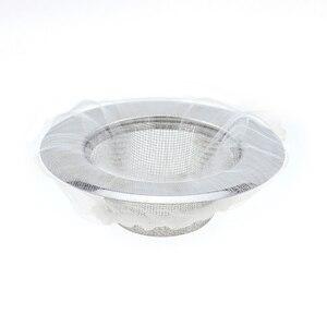 Image 4 - 10/30/50/100 Pcs Keuken Anti Verstopping Sink Filter Wassen Gerechten En Groenten Afvoer Residu filter Vuilniszak