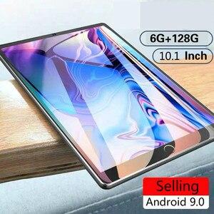 2021 Hot Sale 10.1 Inch Ten Core 6G + 128G Android 9.0 Tablet WiFi Dual SIM Dual Kamera Belakang 5.0MP IPS Bluetooth 4G WiFi