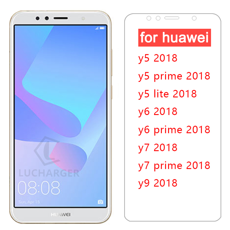 protective <font><b>glass</b></font> for <font><b>huawei</b></font> y5 y6 y7 <font><b>prime</b></font> y9 <font><b>2018</b></font> <font><b>tempered</b></font> <font><b>glass</b></font> on <font><b>y</b></font> 5 <font><b>6</b></font> 7 9 5y 6y 7y 9y y52018 y62018 screen protector glas image