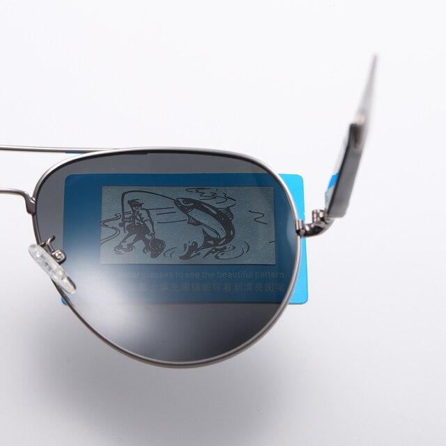 2020 Classic Retro Oversized Polarized Sunglasses for Men Women Driving Aviator Alloy Frame Sun Glasses UV400 Protection 5