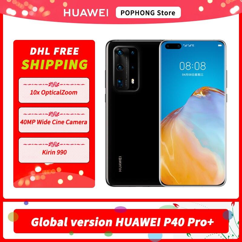 Huawei P40 Pro + Plus 5G MobilePhone 6.58'' Kirin 990 8GB 256GB Android 10 Bluetooth 5.1 in Screen WIFI 6 SA/NSA Cellphones  - AliExpress