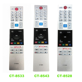 NEW Replacement For Toshiba LED HDTV TV Remote Control CT-8533 CT-8543 CT-8528 new original ct 8536 for toshiba tv voice remote control