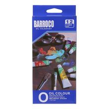 Oil-Painting Artist-Supplies 12-Colors Drawing-Pigment Set with Brush-Set 652E 6ml-Tube