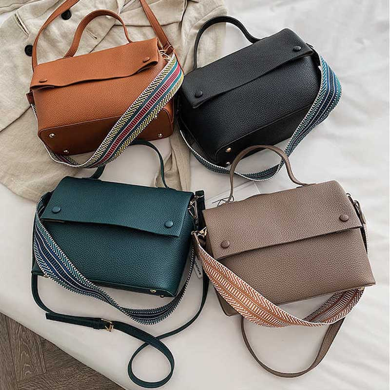 Ladies Shoulder Bag Female Ladies Hand Bags Luxury Classic Pu Leather Handbags Female Shoulder Bags Vintage Bag Bolsos Mujer