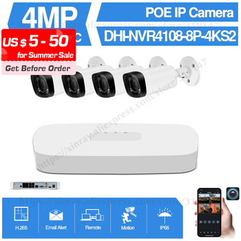 Dahua 4MP 8+4 Security CCTV Camera Kits Original NVR NVR4108-8P-4KS2 IP Camera IPC-HFW4431R-Z Motor Zoom Surveillance System dahua 4mp 8 4 security camera system 4mp ip camera ipc hdw4433c a 8ch poe nvr4108 8p 4ks2 surveillance p2p system remote view