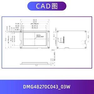 Image 4 - DMG48270C043_03W 4.3 inch serial screen 24 bit color touch screen DGUS development